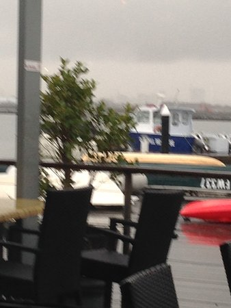 Williamstown, Australia: View from our table
