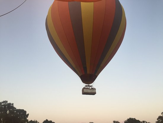 Governors' Balloon Safaris: Hot air ballooning in little governors