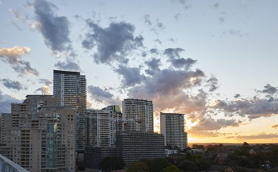 Chatswood, Australia: Sunset