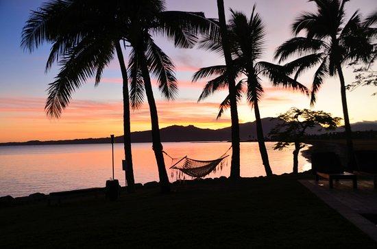 Hilton Fiji Beach Resort Spa Sunrise From The Grounds