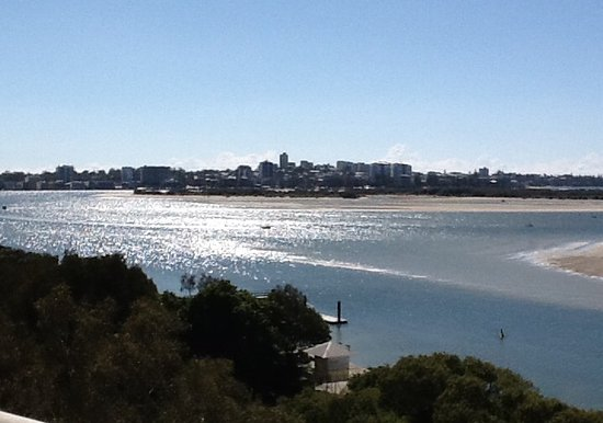 Gemini Resort: Looking across to Caloundra from the 7th floor balcony.
