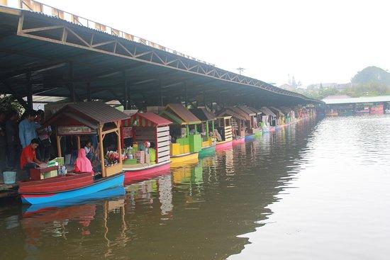 floating market lembang pasar terapung