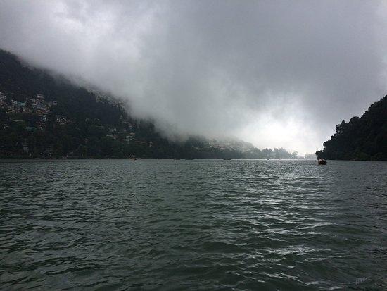 cloudy day on the lake picture of nainital lake nainital