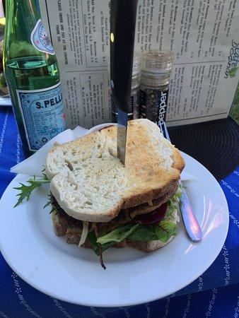 Doonan, Australien: Steak sandwich