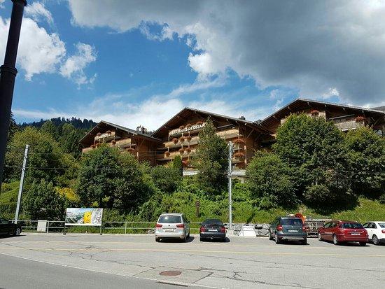 Saanenmoser, Sveits: Golfhotel les Hauts de Gstaad