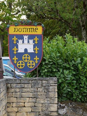 Domme, Frankreich: Wapen schild