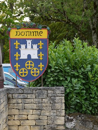 Domme, Fransa: Wapen schild