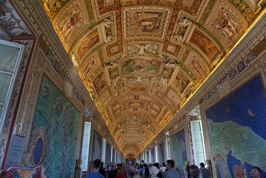 Hall Of Maps Sistine Chapel Picture of Vatican Museums Vatican