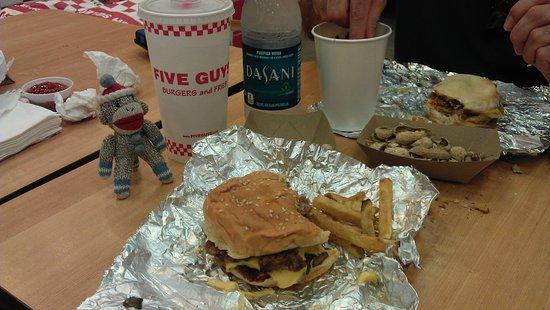 White Plains, État de New York : A Great Burger.