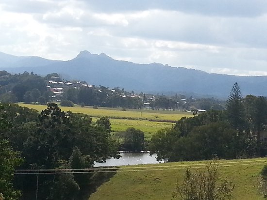 Murwillumbah, ออสเตรเลีย: Tweed river and distant ranges from Art Centre