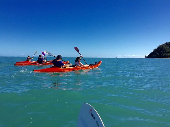 Palm Cove, Australia: Kayaking to Double Island