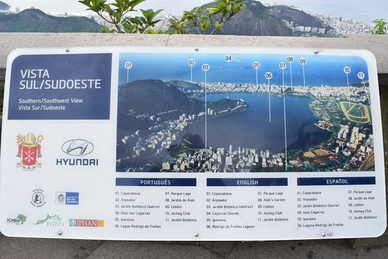 A map to orientate yourself to the city Ipanema is number 5