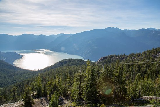 Squamish, Canada: View from the top