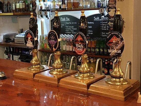 Glenuig, UK: Nice beer