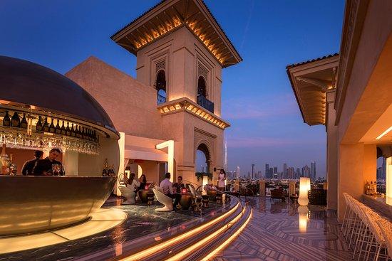 Mercury Lounge Rooftop Bar Dubai Jumeirah Restaurant