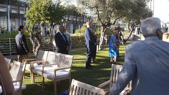 Hotel Arts Barcelona: Here comes the bride