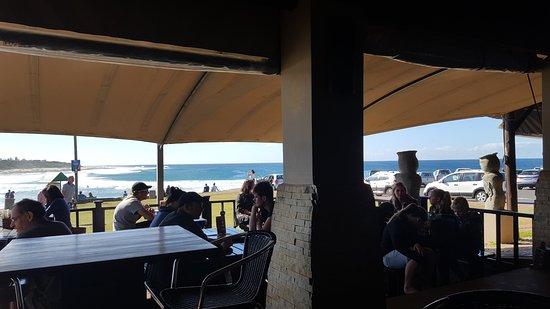 Uvongo, แอฟริกาใต้: The veranda view