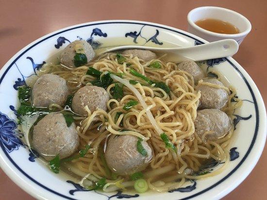 Newark, Kaliforniya: noodles and beef balls