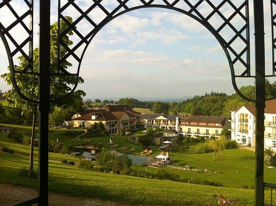 Neuhofen an der Ybbs, Østerrike: Ausblick vom Gartenpavillon