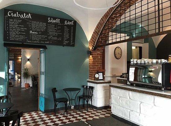Photo of Cafe Gran Delicato at Kalevankatu 34, Helsinki 00180, Finland