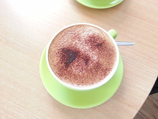 Chatterbox Cafe : A cuppa cappuccino from Chatterbox this was taken in 2014...no recent photo but they're getting
