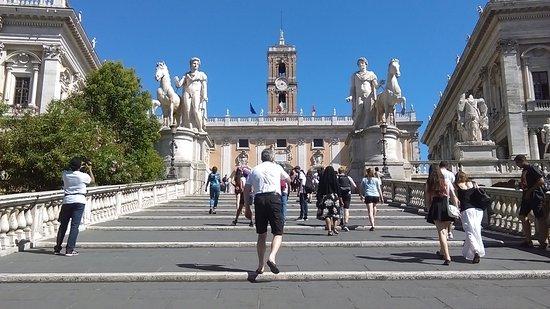 Marvelous Cordonata Leading To Piazza Del Campidoglio