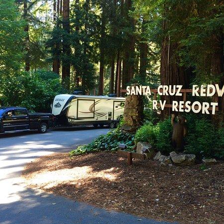 Felton, CA: Beautiful RV resort.