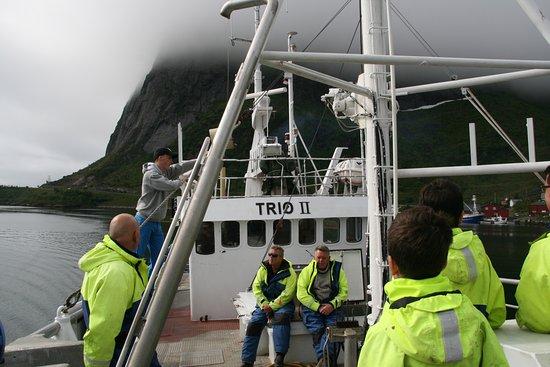 Reine, Noruega: Lofoten fishing experience