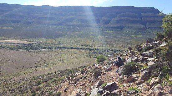 Cederberg, Νότια Αφρική: A small hike up the mountain.
