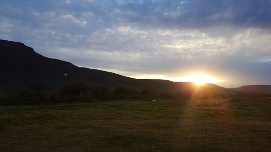 Cederberg, Νότια Αφρική: Morning view from the room.
