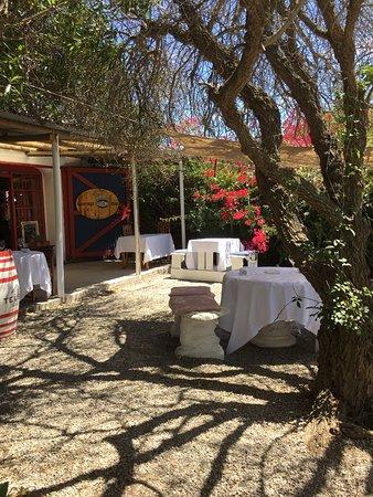Paternoster, Sudafrica: garden setting at Oep Ve Koep