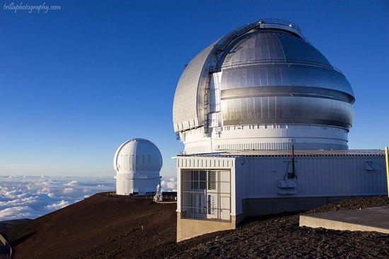 Mauna Kea Summit: Observatories at the summit