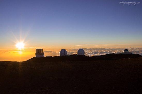 Mauna Kea Summit: Sunset is beautiful!