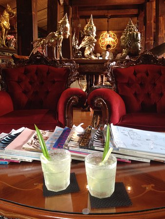 Saraphi, Tailandia: Welcome drink
