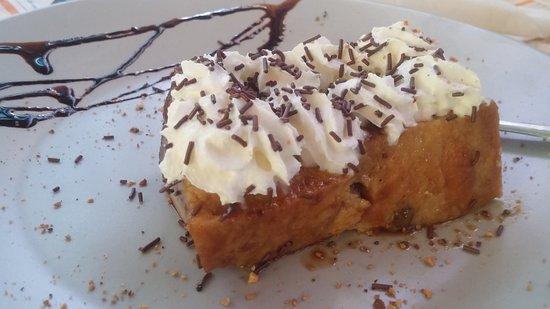 Dilar, สเปน: Postre: pudding.