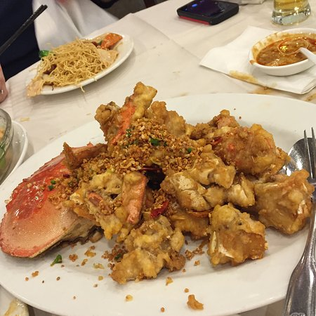 Kent, WA: salt and pepper crab