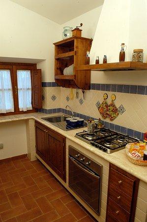 Sovana, Italia: Cucina