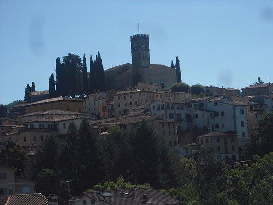 Hotel La Pergola: La vista dalla terrazza