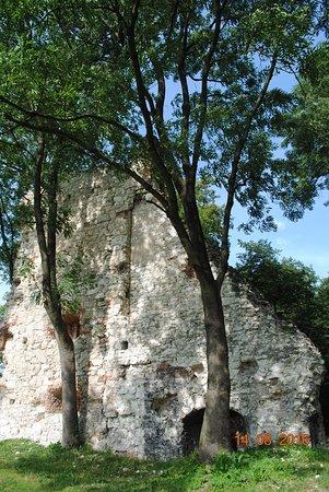Lublin Province, Polen: Ruiny,Krupe