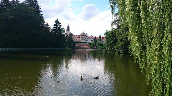 Průhonice, Τσεχική Δημοκρατία: Пругоницкий замок.