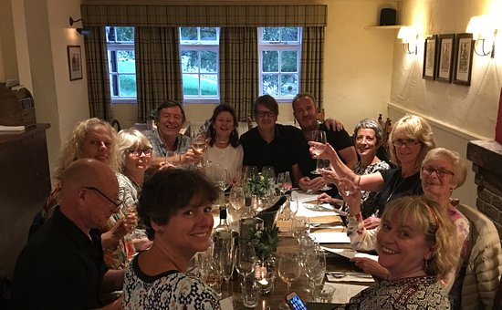Berkhamsted, UK: Celebration dinner for the Alford Arms re-opening