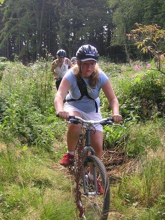 La Roche-en-Ardenne, Belçika: All Terrain Biking