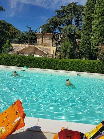 Petrignano d'Assisi, Włochy: Piscina