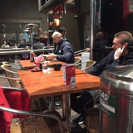 Goshu Ramen Tei: Outside Tables
