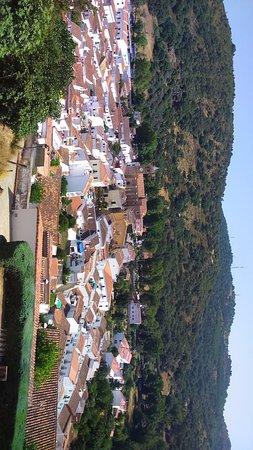 Vista de Almonaster la Real desde la Mezquita