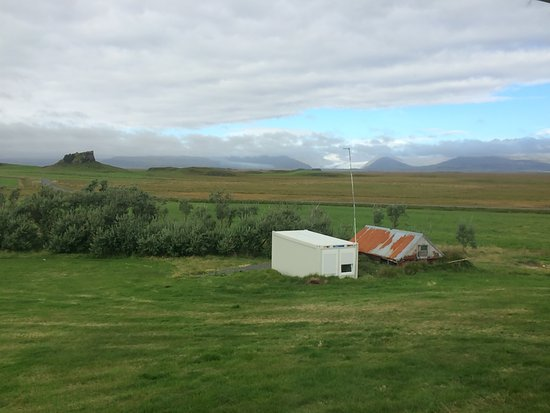 Hornafjorour, Islandia: View from the breakfast room