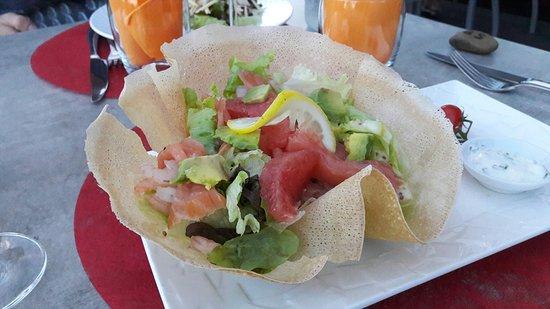 Tournus, Francia: Heerlijke gerechten bij Table du kolibri