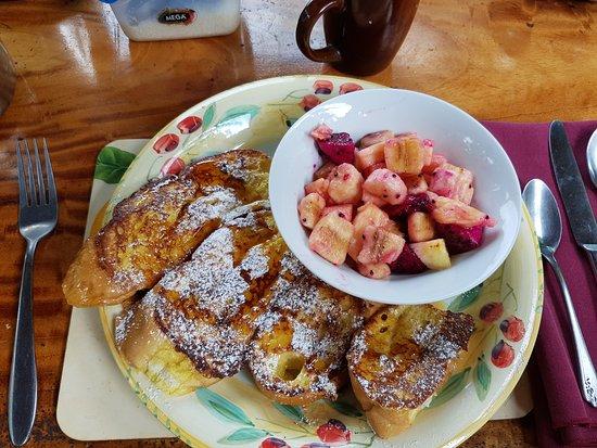 Santa Cruz, Nicaragua: Our breakfast