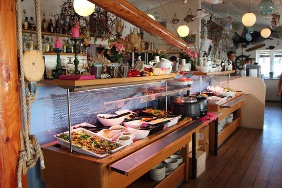 Gilleleje, Danimarka: Salatbar