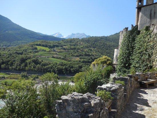 St. Pierre, Italia: Vista dal castello